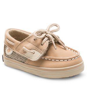 Sperry's Boys Bluefish Crib Shoe 1M Infant